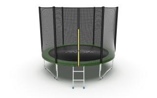 Батут EVO JUMP EXTERNAL 10FT GREEN