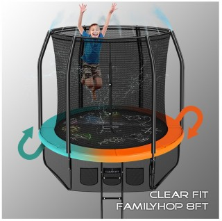 Батут CLEAR FIT FAMILY HOP 8 FT
