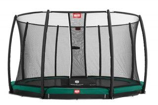 Батут Berg InGround Champion 380 + Safety Net Deluxe 380
