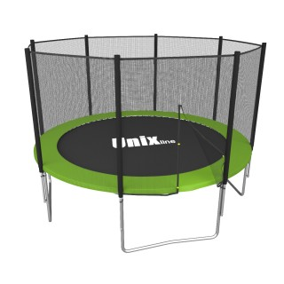 Батут UNIX LINE SIMPLE 8FT GREEN OUTSIDE TRSI8OUTG